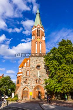 Architecture : St.George's Roman Catholic Church in Sopot Poland #05622