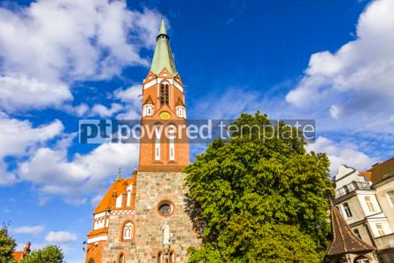 Architecture : St.George's Roman Catholic Church in Sopot Poland #05623