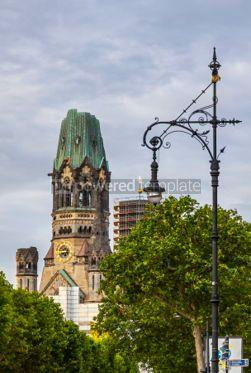 Architecture : Kaiser-Wilhelm-Kirche church in Berlin Germany #05624
