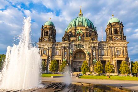 Architecture : Berlin Cathedral (Berliner Dom) in Berlin Germany #05629