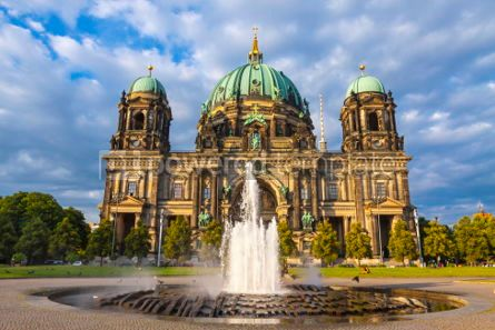 Architecture : Berlin Cathedral (Berliner Dom) in Berlin Germany #05630