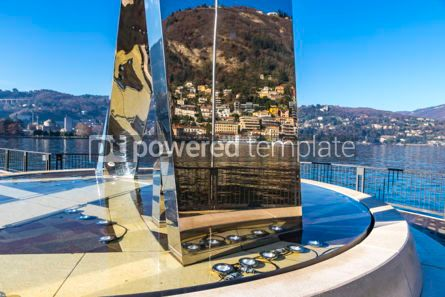 Architecture : Sculpture Life Electric on Lake Como Como city Lombardy Italy #05658