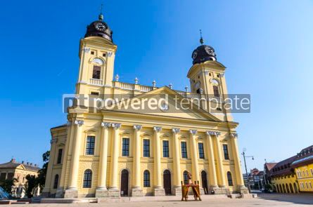 Architecture: Reformed Great Church in Debrecen #05668