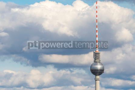 Architecture : Berlin TV Tower (Fernsehturm) Central Berlin Mitte Germany #05678