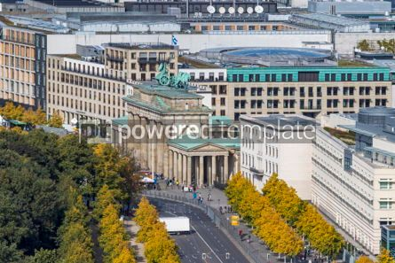 Architecture : Brandenburger Tor (Brandenburg Gate). One of the famost landmark #05679
