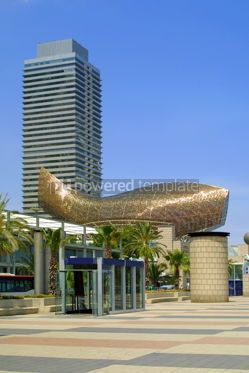 Architecture : Mapfre Tower - on of the highest skyscraper in Barcelona #05707