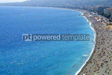Nature: Pebble beach in Nice #05725