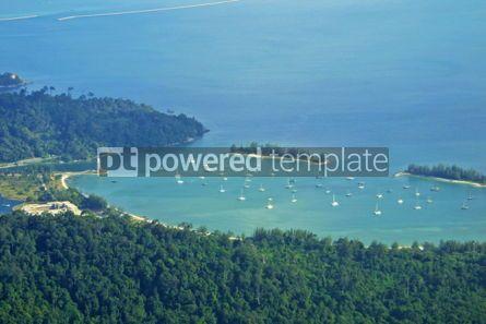 Nature: Landscape of Langkawi island Malaysia #05726