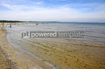 Nature: Sandy beach on Baltic sea #05742