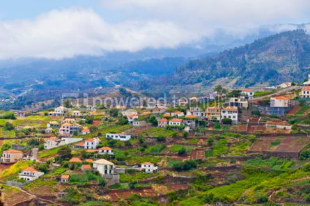 Nature: Picturesque rural landscape of Madeira island Portugal #05770