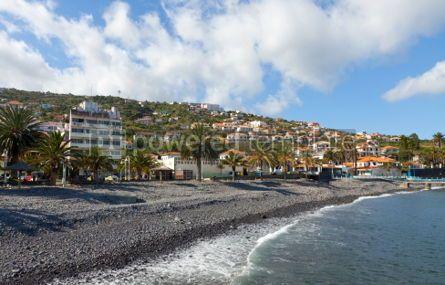 Nature: Beach in Santa Cruz Madeira island Portugal #05772