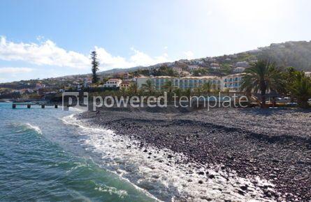 Nature: Beach in Santa Cruz Madeira island Portugal #05773