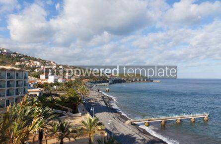 Nature: Beach in Santa Cruz Madeira island Portugal #05774