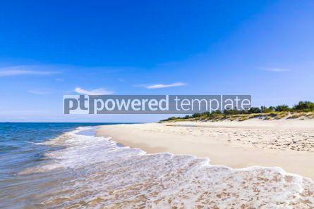Nature: Sandy beach on Hel Peninsula Baltic sea Poland #05783