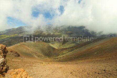 Nature: Crater Silvestri Superiori on Mount Etna Sicily Italy #05799