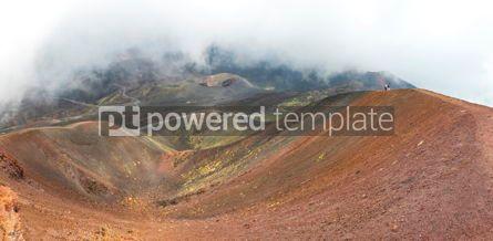 Nature: Crater Silvestri Superiori on Mount Etna Sicily Italy #05800