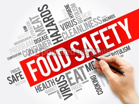 Business: Food Safety word cloud collage concept background #05906