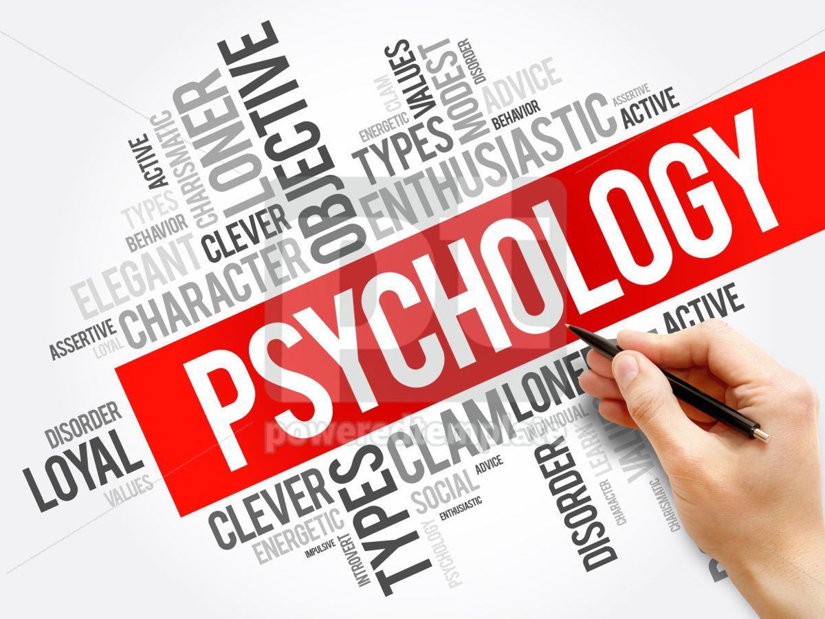 Psychology word cloud collage  social health concept background, 05914, Business — PoweredTemplate.com