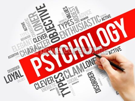 Business: Psychology word cloud collage  social health concept background #05914