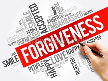 Business: Forgiveness word cloud collage social concept background #05922