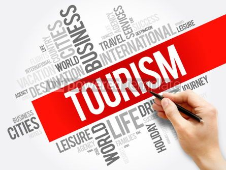 Business: Tourism word cloud collage travel concept background #05955