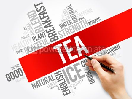 Business: TEA word cloud collage food and drink concept background #05959