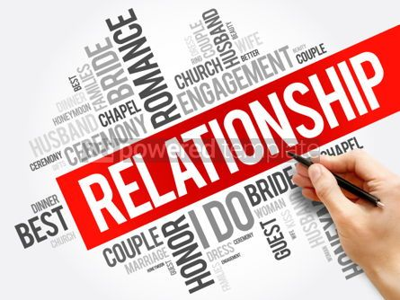 Business: Relationship word cloud collage concept background #05974