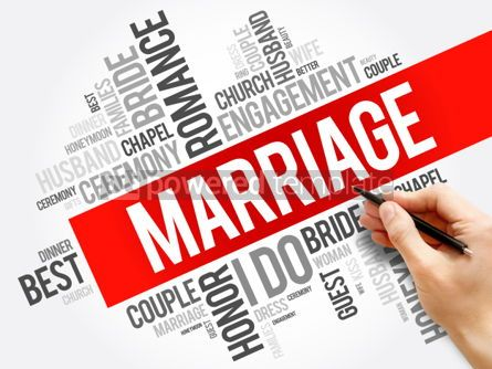 Business: Marriage word cloud collage concept background #05975