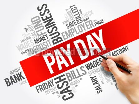 Business: Pay Day word cloud collage business concept background #05978