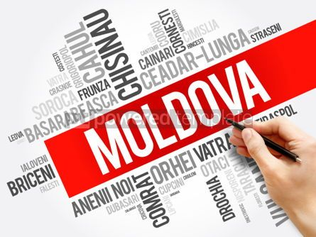 Business: List of cities in Moldova word cloud collage business and trave #06017