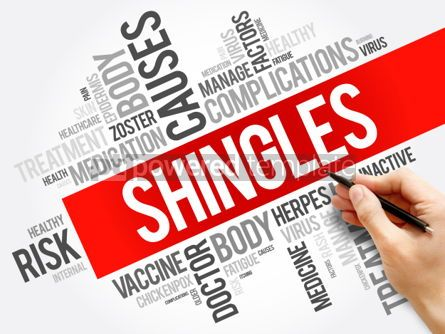 Business: Shingles word cloud collage health concept background #06021