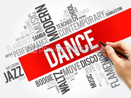 Business: Dance word cloud collage concept background #06039