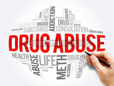 Business: Drug Abuse word cloud collage #06048