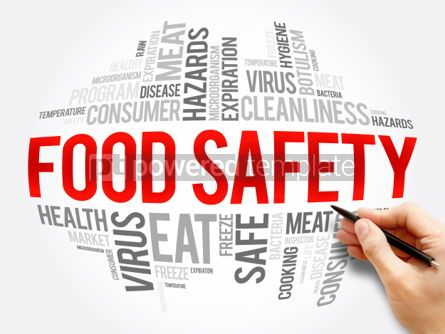 Business: Food Safety word cloud collage #06049