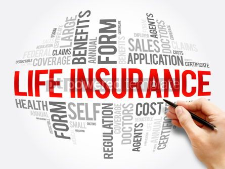 Business: LIFE Insurance word cloud collage #06050