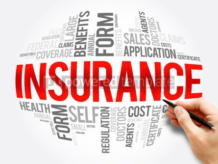 Business: Insurance word cloud collage #06052