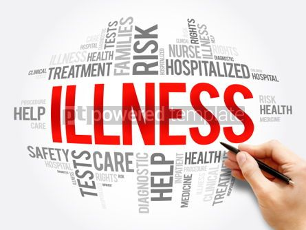 Business: ILLNESS word cloud collage #06062