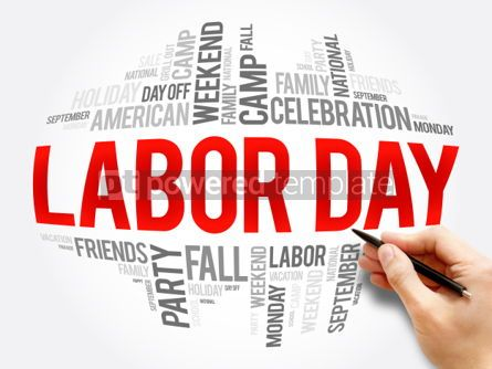 Business: Labor Day word cloud collage #06070