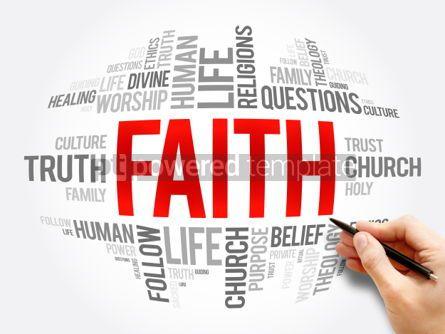 Business: Faith word cloud collage #06072