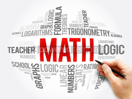 Business: Math word cloud collage #06077