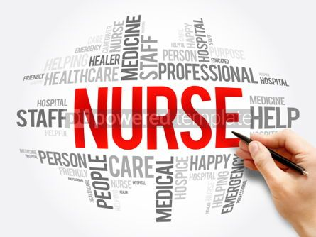 Business: Nurse word cloud collage #06079
