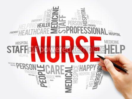 Business: Nurse word cloud collage #06079