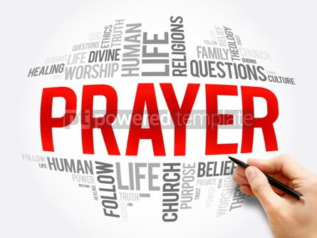 Business: Prayer word cloud collage #06080