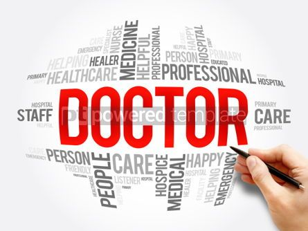 Business: Doctor word cloud collage #06081