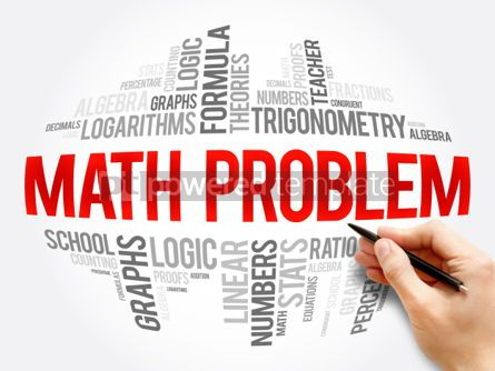 Business: Math problem word cloud collage #06084