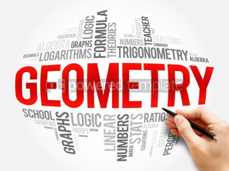Business: Geometry word cloud collage #06086