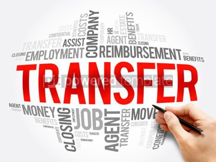 Business: Transfer word cloud collage #06099