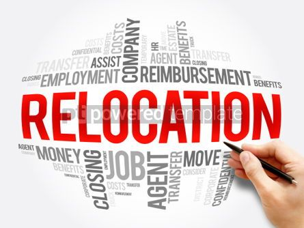 Business: Relocation word cloud collage #06100