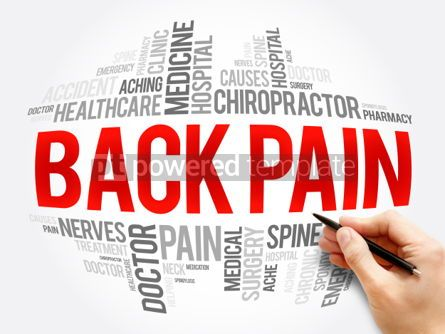 Business: Back Pain word cloud collage #06101