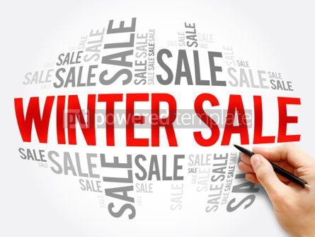 Business: WINTER SALE words cloud #06122